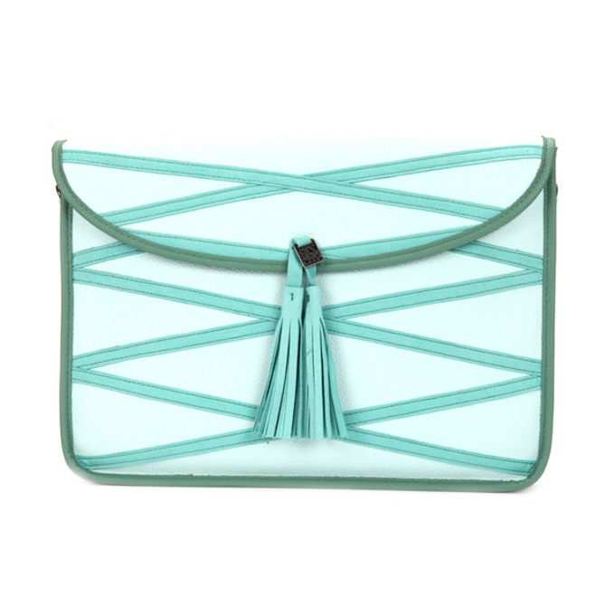 Sex And The City Fifth Avenue Laptop Bag Blue