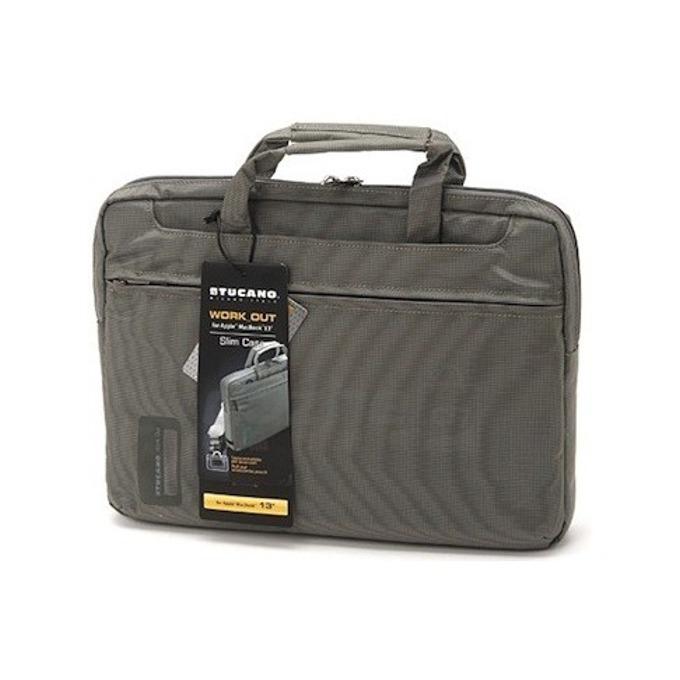 """Чанта за MacBook Pro TUCANO WO-MB154-G, Workout, 15.4""""(39.12cm), сив image"""