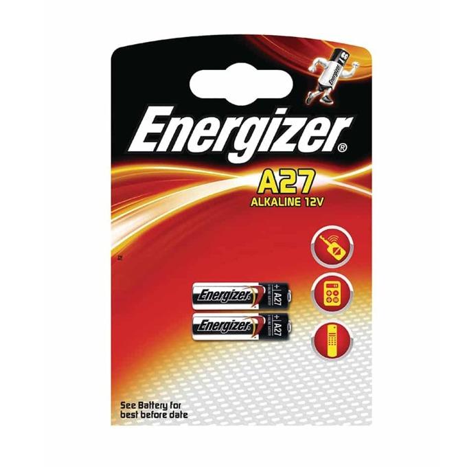 Батерия алкална Energizer, A27, 12V, 2бр. image
