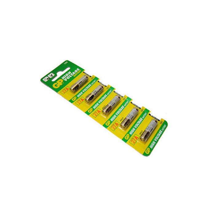 Батерии алкални GP High Voltage А27, 12V, 5 бр