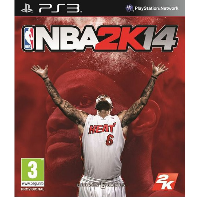 Игра за конзола NBA 2k14, за PlayStation 3 image