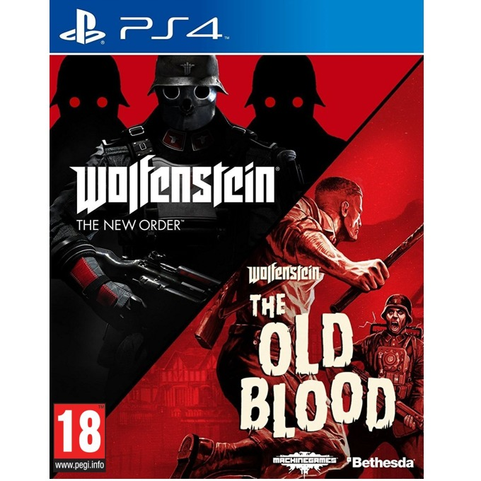 Игра за конзола Wolfenstein: The New Order + The Old Blood, за PS4 image