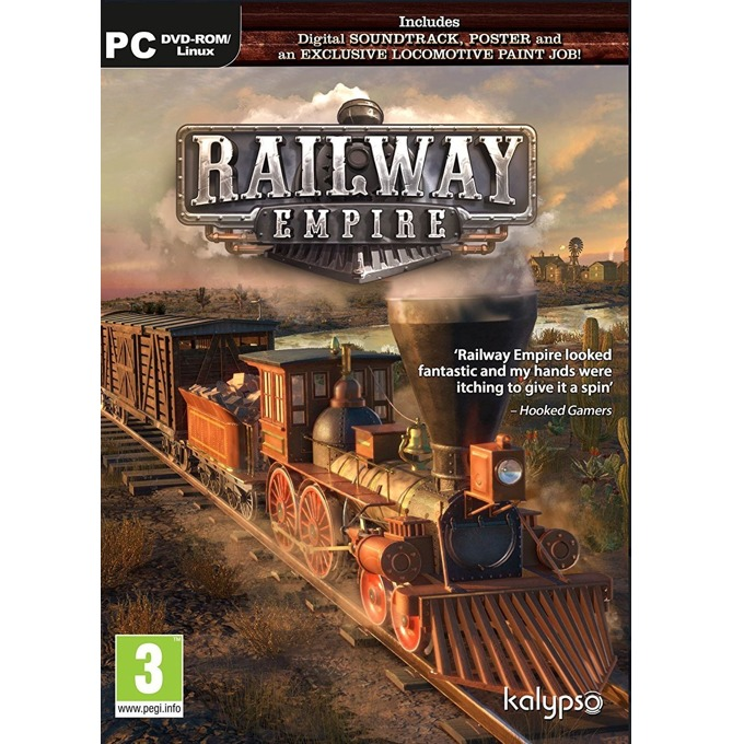 Игра Railway Empire, за PC image