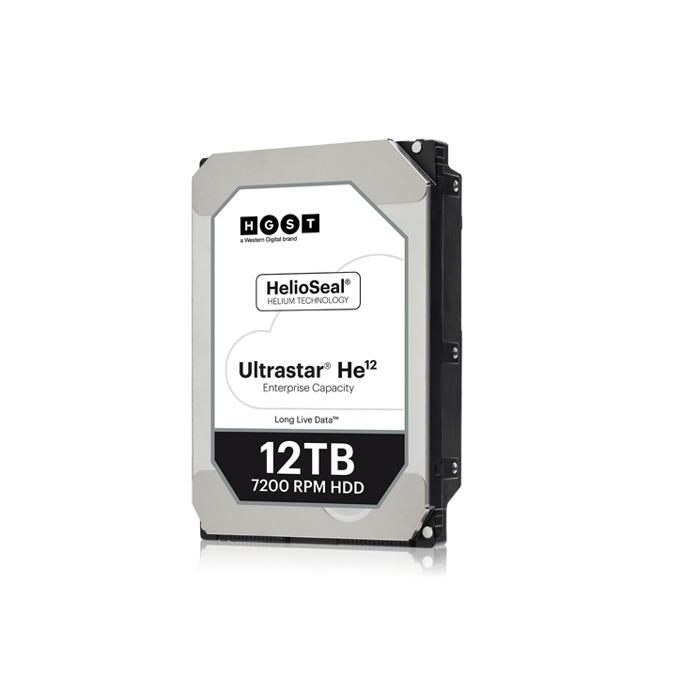 """Твърд диск 12TB HGST Ultrastar He12 HUH721212AL5201, SAS 12Gb/s, 7200 rpm, 256MB кеш, 512e sector size(TCG), 3.5"""" (8.89cm) image"""