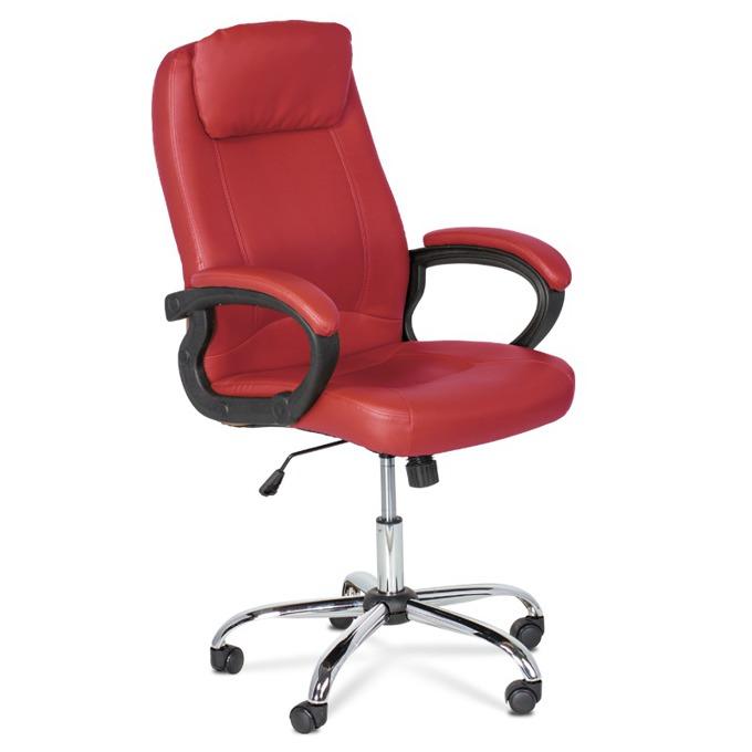 Директорски стол Carmen 6131, червен image