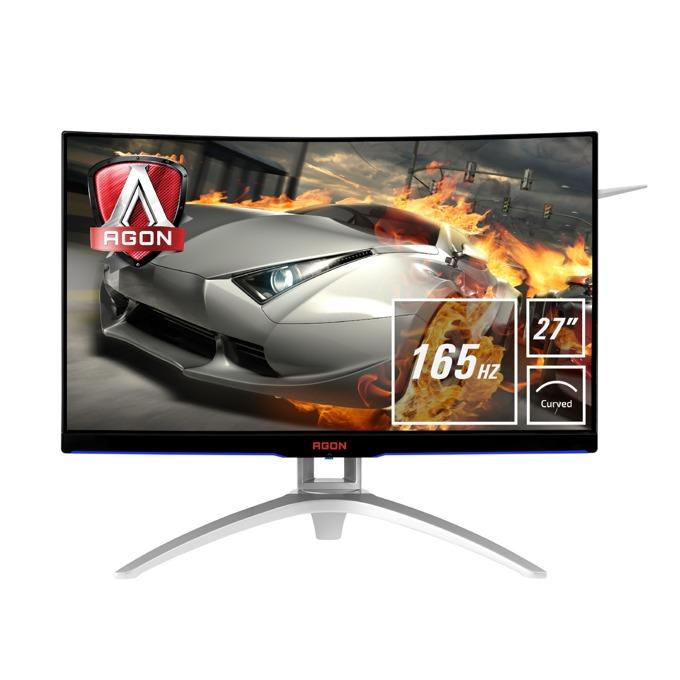 """Монитор AOC AG272FCX6, 27"""" (68.58 cm) MVA панел, Full HD, 1ms, 50000000:1, 250 cd/m2, DisplayPort, HDMI, VGA image"""