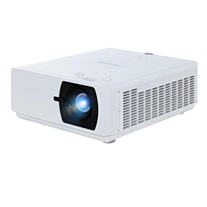 Проектор VIEWSONIC LS800HD, DLP Full HD(1920x1080), 100000:1, 5000 lm, VGA, HDMI, RS232, RCA, USB, LAN, бял image
