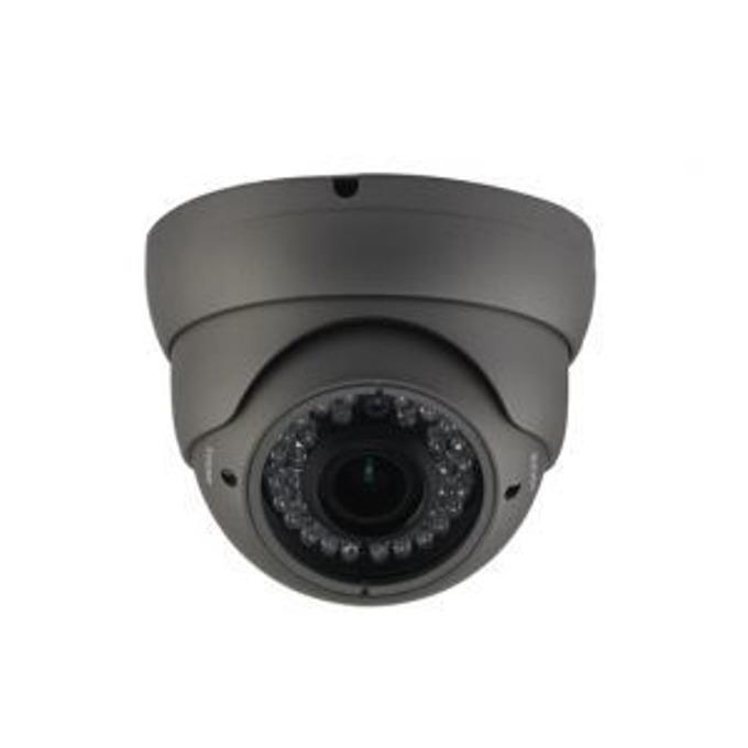 TVI камера irLAN DOL-TVI1080VFOF30MB, куполна камера, 2.1MPix(1080p), 2.8-12mm обектив, IR осветеност (до 30 m), за външен монтаж image