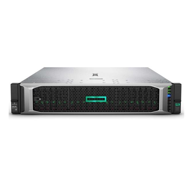 Сървър HPE ProLiant DL380 G10 (SOLUDL380-003), осемядрен Intel Xeon-Silver 4110 2.1GHz, 16GB RDIMM & 16GB 2Rx8 PC4, 3x 1.2TB SAS HDD & 2x 240GB SATA SSD, DP, 4x 1GbE, 1x Micro SD, 5x USB 3.0, 2x 500W захранване image