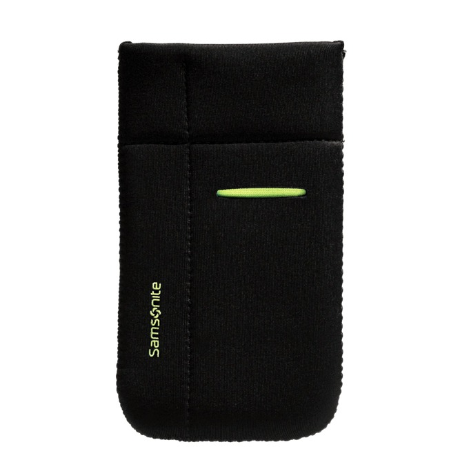Калъф тип джоб Samsonite Mobile sleeve M, черен/зелен image