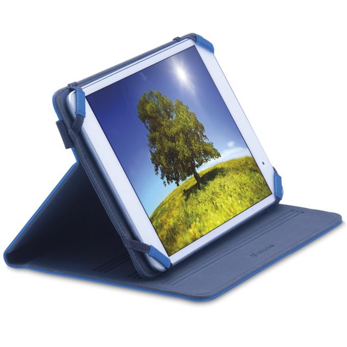 Калъф за таблет Vision за мобилни устройствa до 10.1'(25,65 cm), стойка, син image