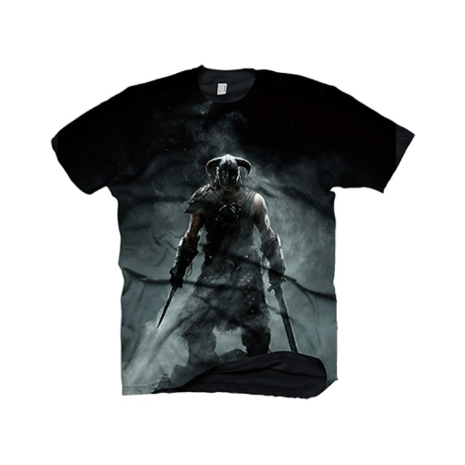 Тениска Skyrim Dragonborn, Size L image