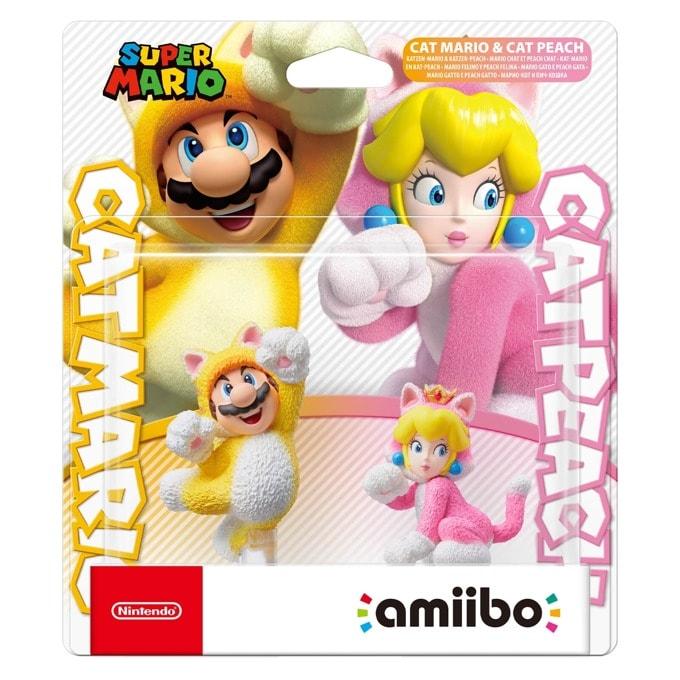 Nintendo amiibo - Cat Mario and Cat Peach product