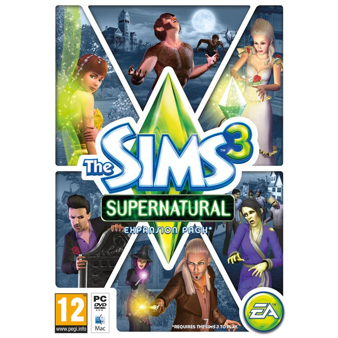 Игра The Sims 3: Supernatural, за PC image