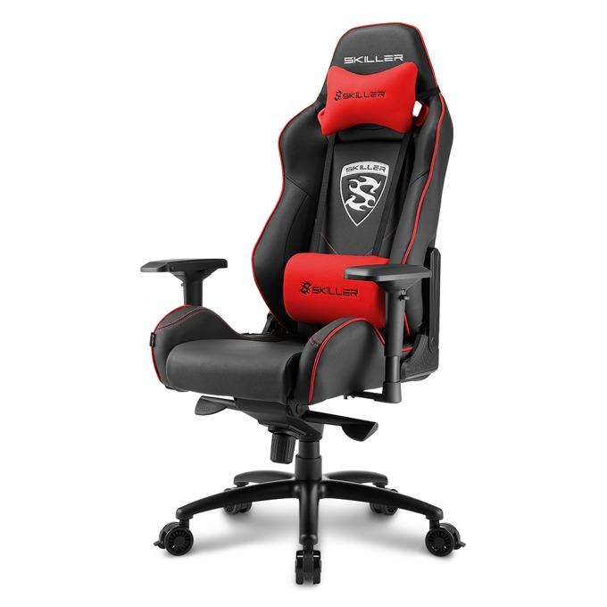 Геймърски стол Sharkoon Skiller SGS3, черен/червен image