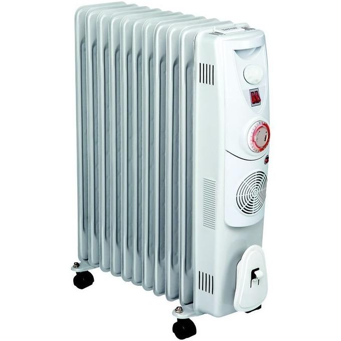 Mаслен радиатор Finlux FR-2711FT,3 степени на мощност, термостат, 2300W, сив image