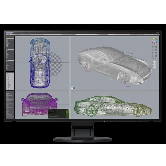 "Монитор Eizo EV2785-BK, 27"" (68.58 cm) IPS панел, 4K/UHD, 5ms, 350 cd/m2, DisplayPort, HDMI image"