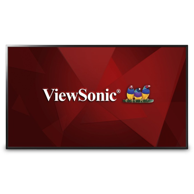 "Публичен дисплей ViewSonic CDE4803, 48"" (121.92 cm), Full HD, 2x HDMI, VGA, Audio, USB image"