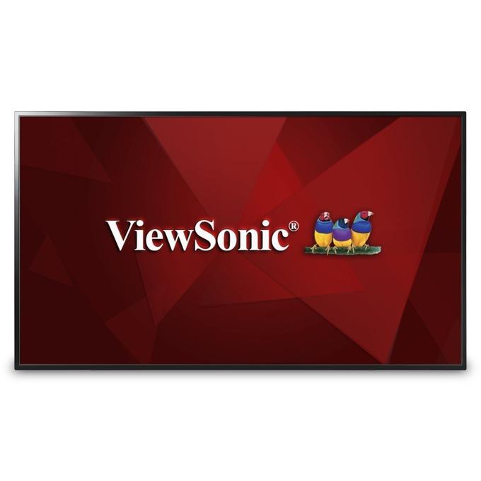 """Публичен дисплей ViewSonic CDE4803, 48"""" (121.92 cm), Full HD, 2x HDMI, VGA, Audio, USB image"""