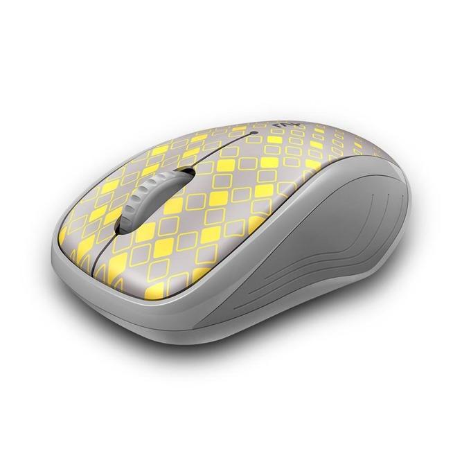 Мишка RAPOO M280, оптична(1300dpi), безжична(Bluetooth 4.0/2.4GHz), USB, сива, до 10м обхват image