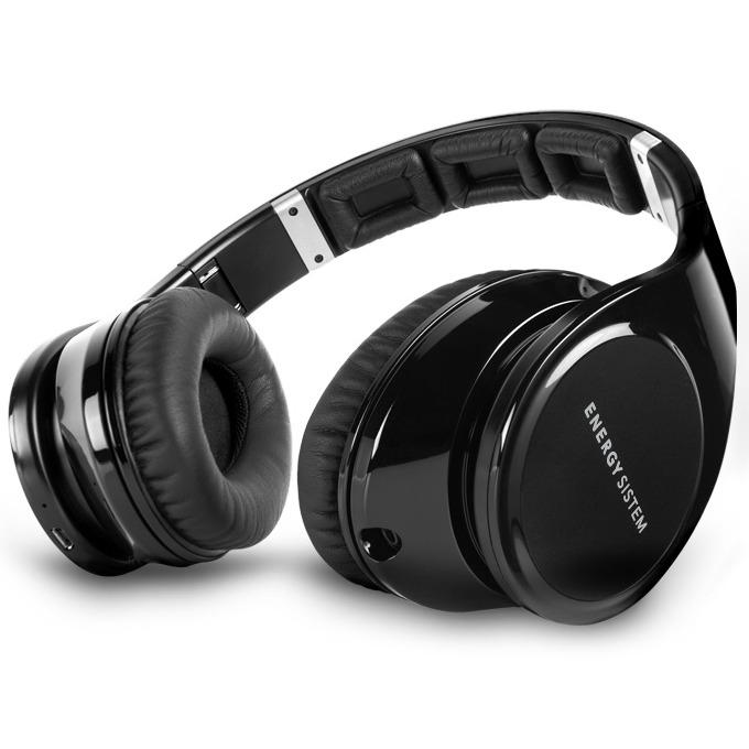 Слушалки Energy BT9 Bluetooth, микрофон, NFC, 3.5 мм жак, microSD, черни image