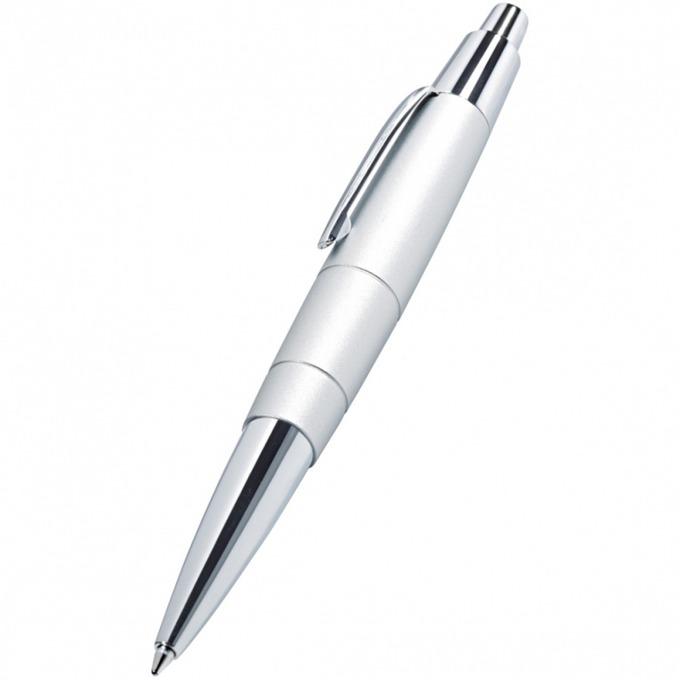Химикалка Wedo Pioneer, син цвят на писане. 0.7 mm, бяла/черна, продава се с подаръчна кутия image