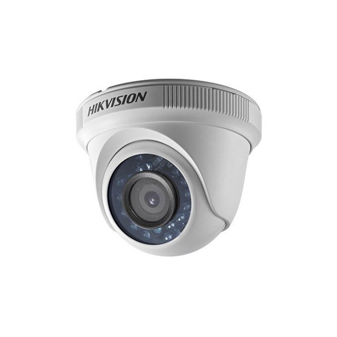 HDCVI камера Hikvision DS-2CE56C0T-IRF, куполна камера, 1MP (1296x732), IR осветление (до 20m), IP66 image