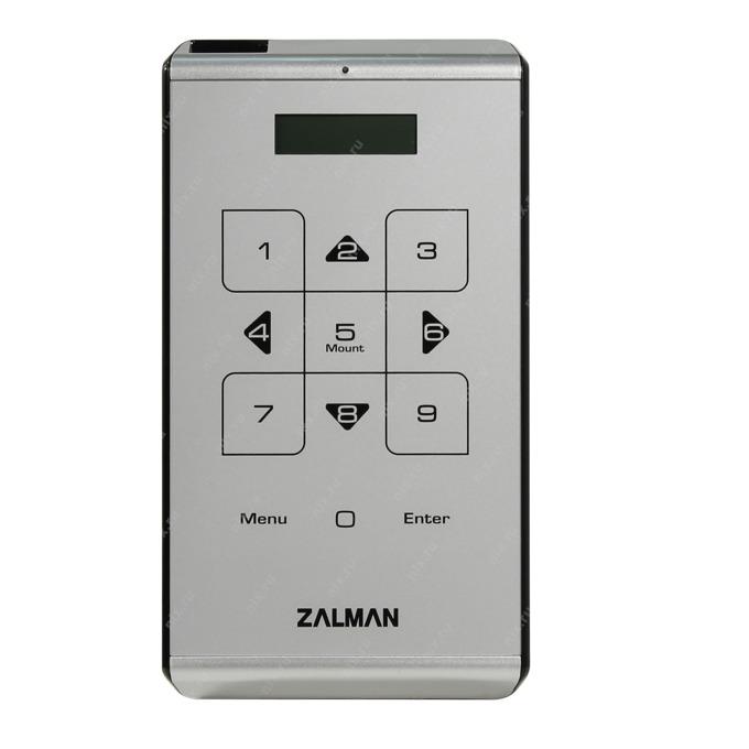 "Кутия 2.5"" (6.35 cm), Zalman VE500, за 2.5"" SATA HDD, USB 3.0, хардуерно криптиране, сребрист image"