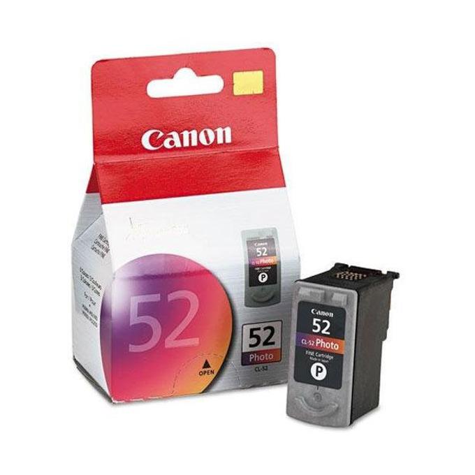 ГЛАВА CANON PIXMA iP 6210D/62200D - Photo ink cartridge - CL-52 - заб.: 3x7ml. image