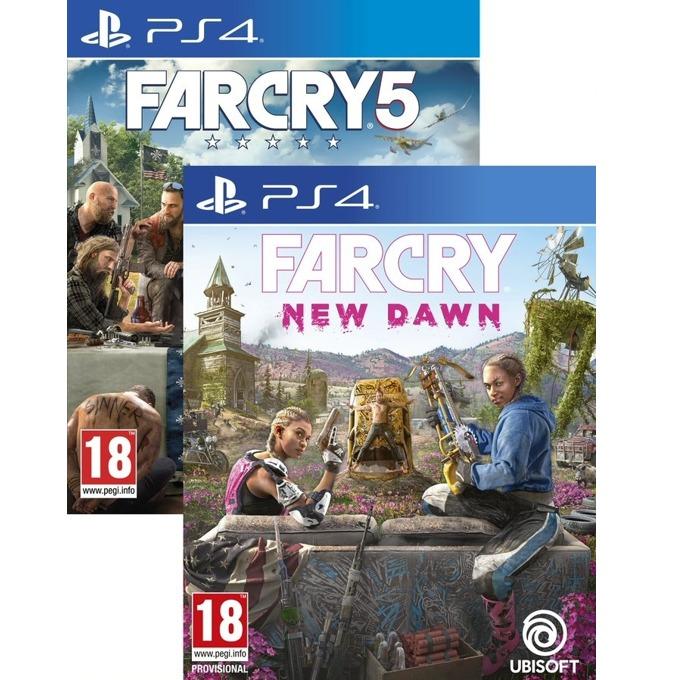 Игра за конзола Far Cry New Dawn + Far Cry 5, за PS4 image