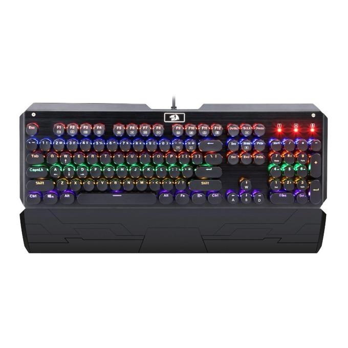Клавиатура Redragon Soma K562R-BK, гейминг, черна, USB image