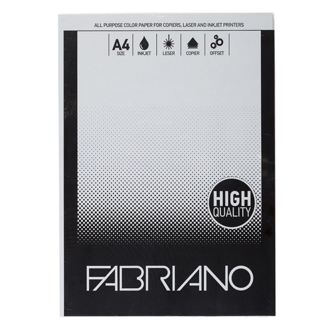 Fabriano A4, 160 g/m2, сив, 50 листа product