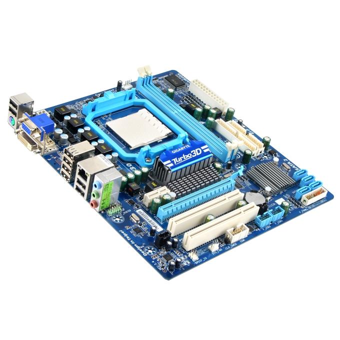 Дънна платка Gigabyte 78LMT-S2, AMD 760G, AM3+, DDR3, VGA+PCI-E, SB7.1, Lan1000, SATA RAID 0,1, 10, mATX image
