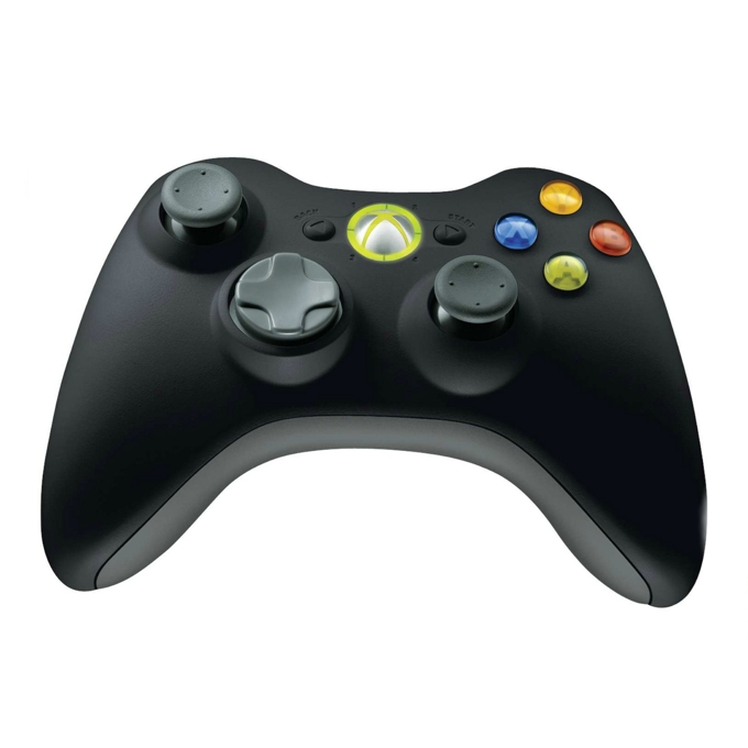 Геймпад Microsoft Xbox 360 Wireless Controller for Windows, безжичен, вибрация, съвместим с PC / Xbox 360® image