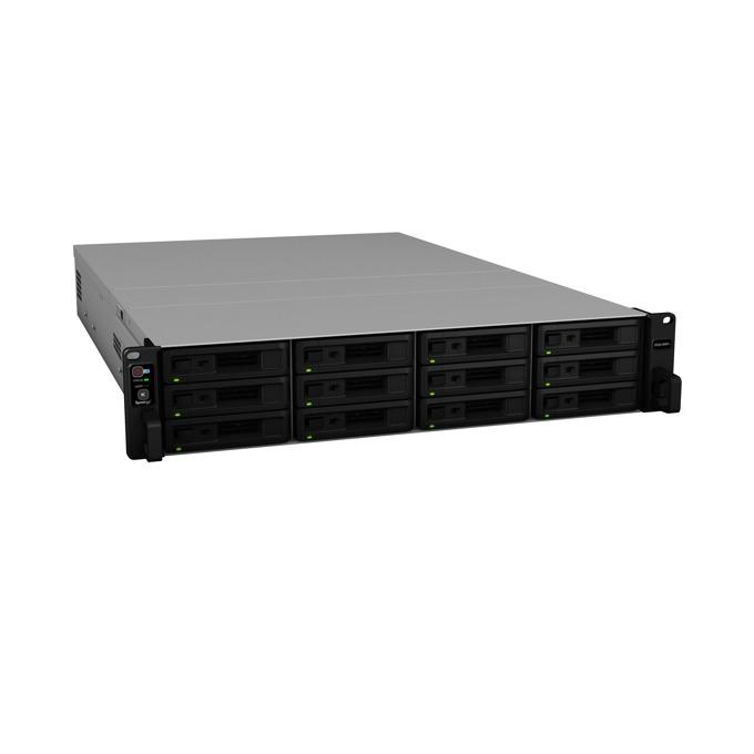 "Мрежови диск (NAS) Synology RackStation RS2418RP+, четириядрен Denverton Intel Atom C3538 2.1GHz, без твърд диск(12x 2.5""/3.5"" SATA HDD/SSD), 4GB DDR4 RAM, 4x Lan1000, 2x USB 3.0 image"