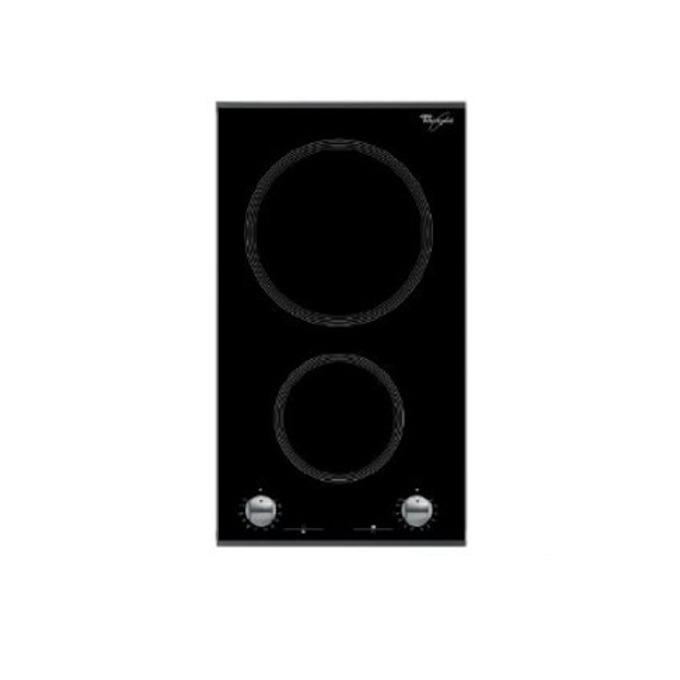 Стъклокерамичен плот за вграждане WHIRLPOOL AKT 360 / IX PC2, 2 зони за готвене, Индикация за остатъчна топлина, кремав image