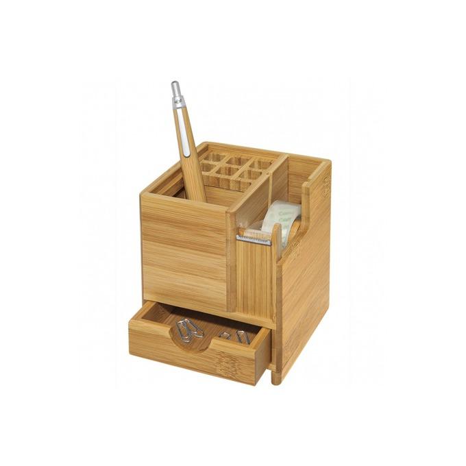 Органайзер за бюро Wedo Bamboo 611707, кафяв image