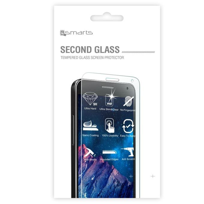 Протектор от закалено стъкло /Tempered Glass/ 4smarts Second Glass за Samsung Galaxy S6, прозрачен image
