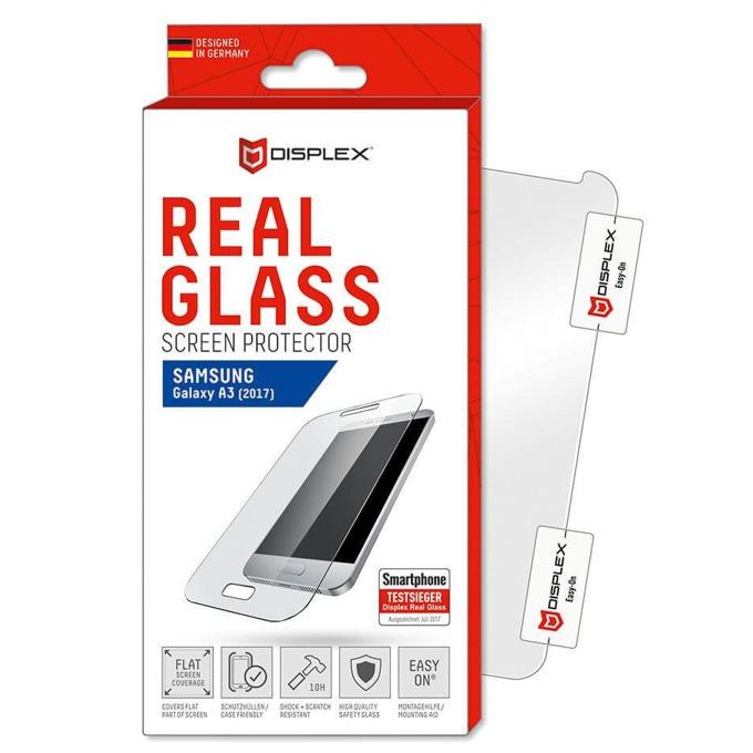 Протектор от закалено стъкло /Tempered Glass/, Displex за Samsung Galaxy A3 image