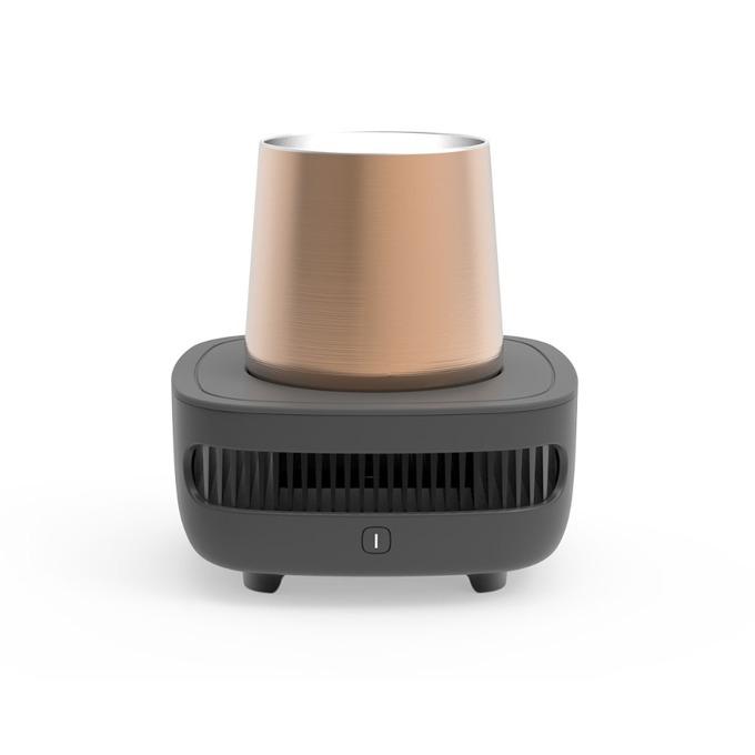Чаша за охлаждане Allocacoc Cup Cooler Instant 360ml 10745GY, съвместим с кенчета и бутилки, DC12V /3A, сив image