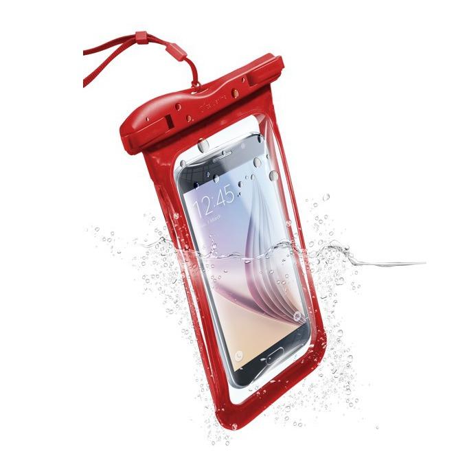 """Водоустойчив калъф за мобилни устройства до 5,7""""(14,47cm), червен image"""