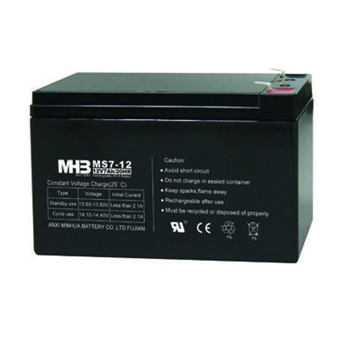 Акумулаторна батерия MHB MS7-12F1, 12V, 7Ah  image