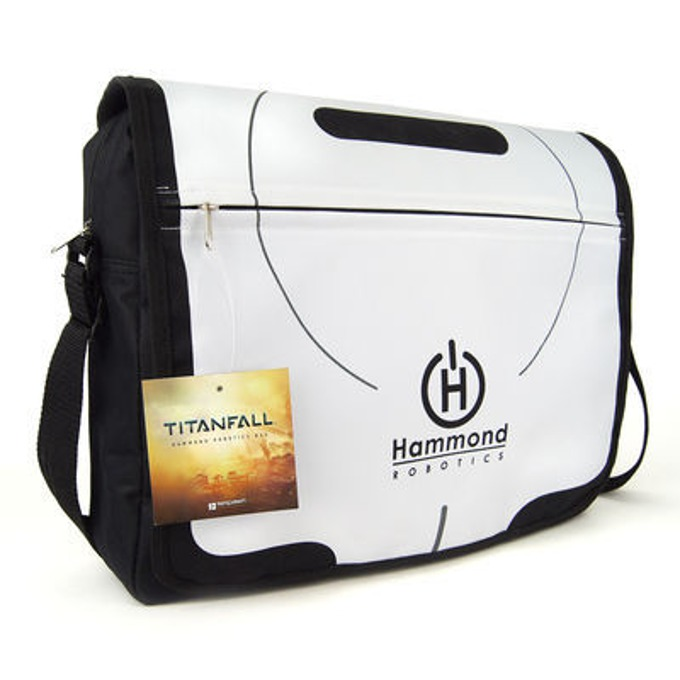Чанта Gaya, Titanfall Hammond Robotics, бяла image