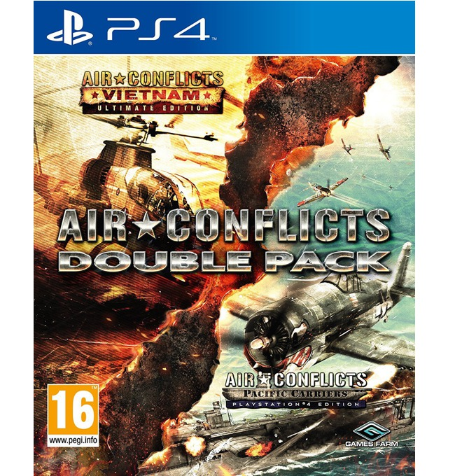 Игра за конзола Air Conflicts Double Pack, за PS4 image