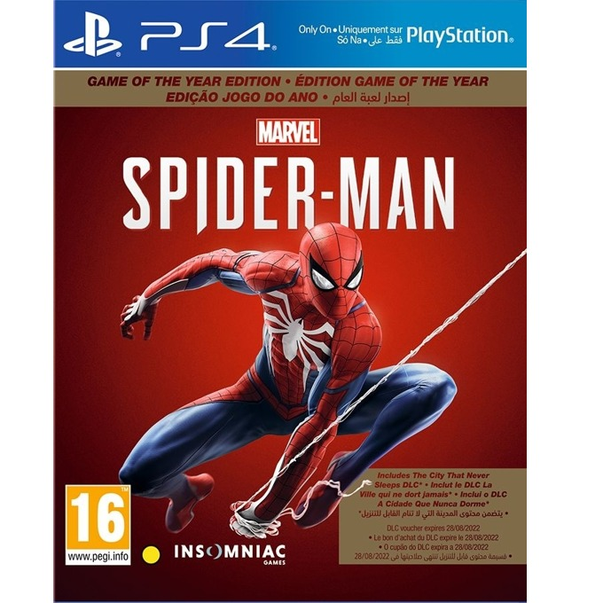 Игра за конзола Marvel's Spider-Man - Game of the Year Edition, за PS4 image