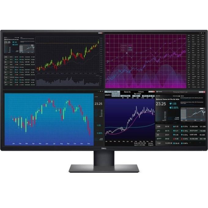 """Монитор Dell UltraSharp U4320Q, 42"""" (106.68 cm)IPS панел, Utra HD/4K, 5ms, 350 cd/m2, DisplayPort, HDMI, USB Hub image"""