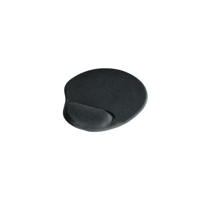 Подложка за мишка HAMA, с възглавничка, ергономичен, черен, 255 x 215 x 2.5mm image