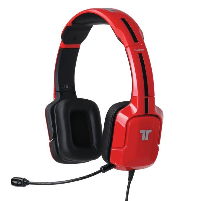 Геймърски слушалки Mad Catz Tritton Kunai (червени) image