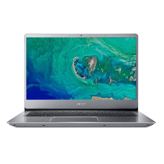 "Лаптоп Acer Aspire Swift 3 SF314-56G-59RF (NX.H4MEX.001)(сребрист), четириядрен Whiskey Lake Intel Core i5-8265U 1.6/3.9 GHz, 14.0"" (35.56 cm) Full HD IPS Display & GeForce MX150 2GB, (HDMI), 8GB DDR4, 1TB HDD, 1x USB Type-C, Linux, 1.60 kg image"