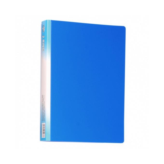 Папка Centrum, за документи с формат до A4, с два ринга, широчина 3см., синя image